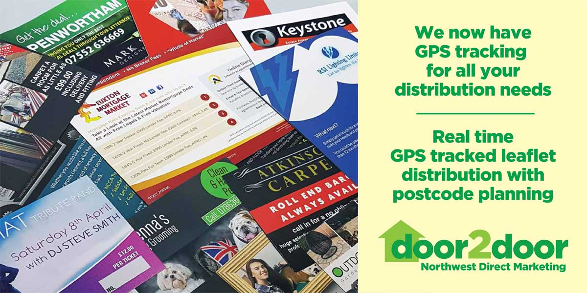 Leaflet Distribution Preston | Printing Preston | Door 2 Door Northwest