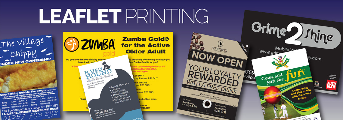 Leaflet Printing Preston | Leaflet Design Preston | Door 2 Door Northwest